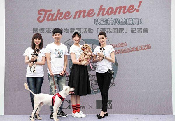 左起:伊林名模林利霏、梅贤治、蔡淑臻、夏如芝。(OB严选提供)