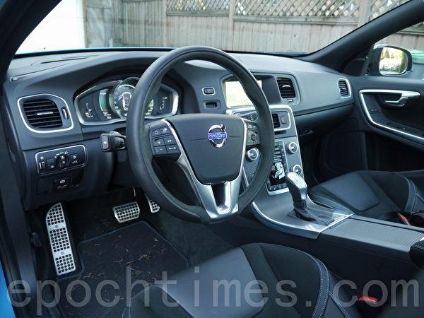 2015 Volvo V60 PoleStar。(夏又容/大纪元)