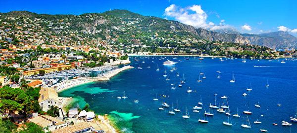 法國蔚藍海岸 - 尼斯全景(fotolia)