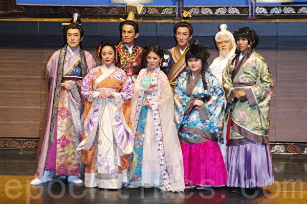 舞台剧《情人哏里出西施》于2015年5月7日在台北彩排。(黄宗茂/大纪元)