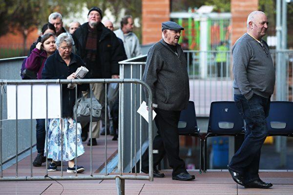 眾所矚目 英國會選舉開始投票