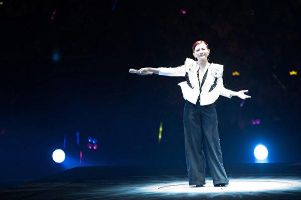 梁静茹全新世界巡演于上周六(5月9日)在北京浪漫开唱。(环球提供)