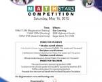 """首届数学竞赛""""Math  STARS""""(数学之星竞赛)将于5月16日早上9点在Star Learning位于糖城的学校举办。(主办方提供)"""