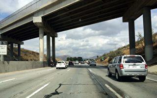 雨季降雨太多伤路面 旧金山湾区公路多坑洼