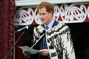哈利王子(Prince Harry)日前傳出向女友求婚。圖為資料照。(Hagen Hopkins/Getty Images)