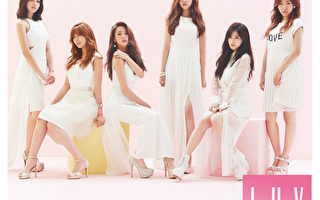 Apink冠军畅销曲《LUV》推出日本版