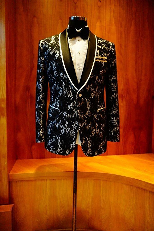 绅装的手工西服展现细致的质感与品味。(图:绅装西服提供)