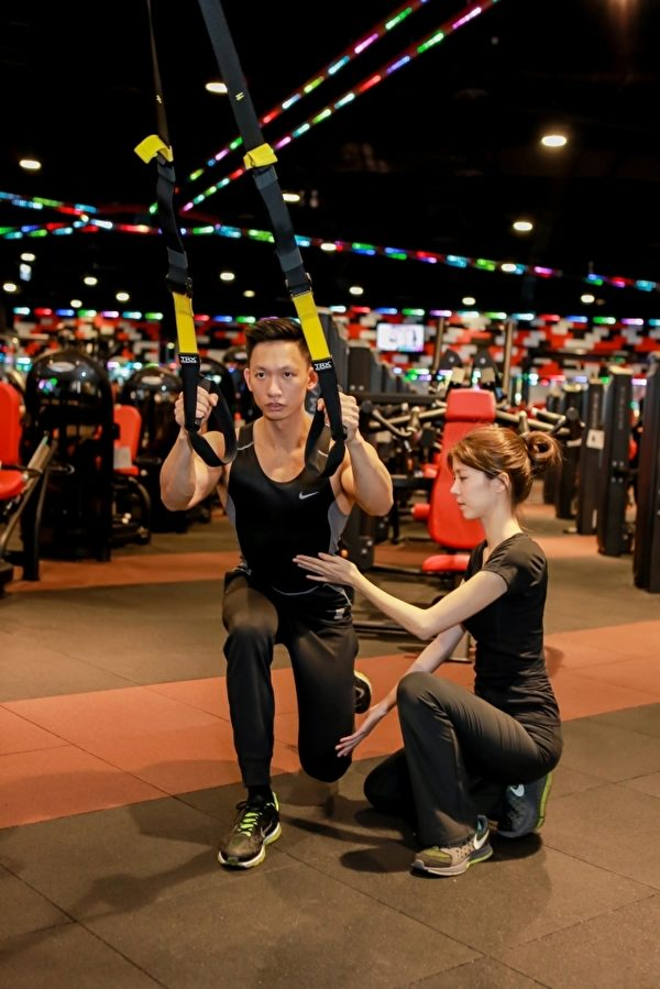 室内健身成运动新宠。(World Gym提供)