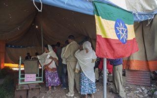 衣索比亚2015年5月24日在阿迪斯阿贝巴举行国会选举投票。(ZACHARIAS ABUBEKER/AFP/Getty Images)