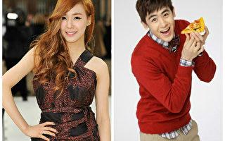 少女时代成员Tiffany与2PM成员Nichkhun资料照。(Getty Images、snowball lMedia/大纪元合成)