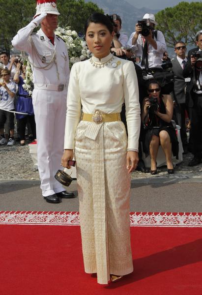 泰國公主思蕊梵娜瓦瑞。(AFP PHOTO / PATRICK KOVARIK)