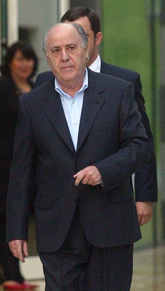 阿曼西奧‧奧爾特加(Amancio Ortega)憑藉服裝帝國英迪德(Inditex)集團和旗下旗艦品牌Zara,依次成為西班牙首富、歐洲首富,如今榮登福布斯全球富豪榜上第2名。(MIGUEL RIOPA/AFP/Getty Images)
