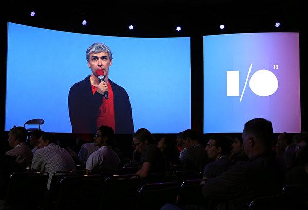 拉里‧佩奇(Larry Page)是科技巨擘谷歌(Google)的共同创始人。(Justin Sullivan/Getty Images)