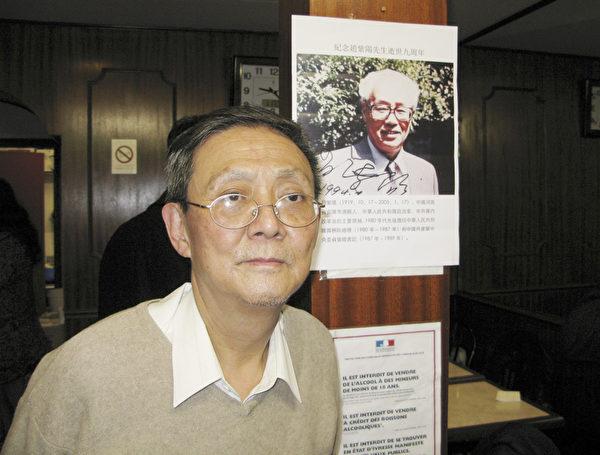中国人权卫士任畹町先生。(杨浩/大纪元)