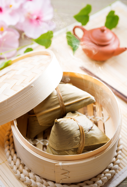 洛杉磯華人眾多,想要吃到粽子一點也不難,許多華人超商都有販售。(fotolia)