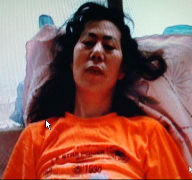 五十多歲的李鳳珍被迫害得失去記憶。(明慧網)
