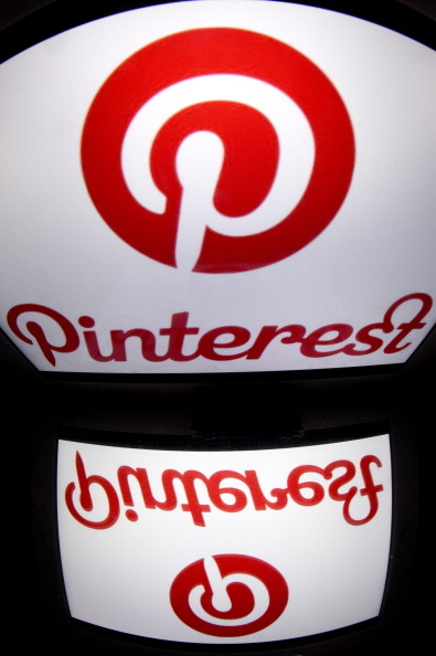 Pinterest。(LIONEL BONAVENTURE/AFP/Getty Images)