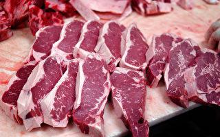 因货运箱外的标签与内部货品上的标签不一致,澳洲牛肉出口中国被暂时禁止。(William Thomas Cain/Getty Images)