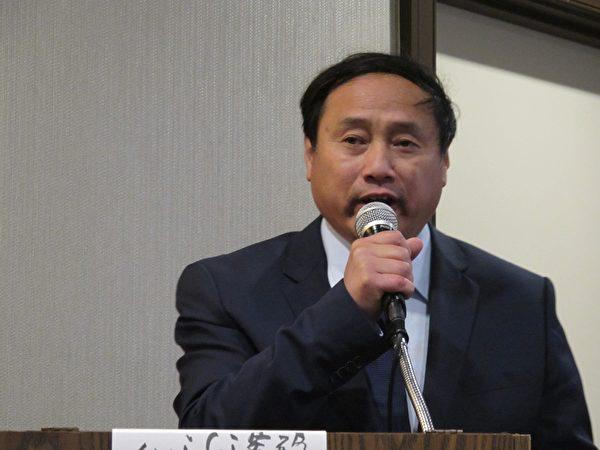 中國民主黨全國委員會主席、前八九民運領袖王軍濤在發言中指出,26年過去,八九民主運動提出的民生兩大問題——腐敗和社會公平,共產黨依然沒有解決。(大紀元)