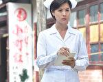 林予晞扮演護士,被民眾誤認是護校學生。(台視提供)