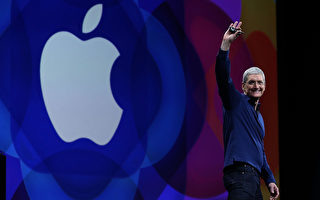 蘋果CEO蒂姆·庫克(Tim Cook)。(Justin Sullivan/Getty Images)