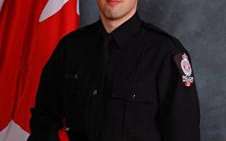 一加拿大警察執行任務時被槍殺