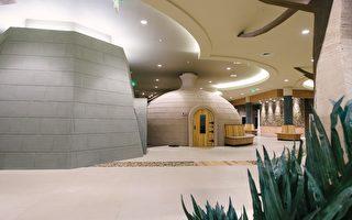 圖:創意的島式建築,充滿自然氣息。(Island Spa & Sauna提供)