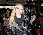 前舞蹈演員Cintia Dortona觀看了神韻舞劇團在布宜諾斯艾利斯Opera劇院的第六場《西遊記》演出。(林南/大紀元)