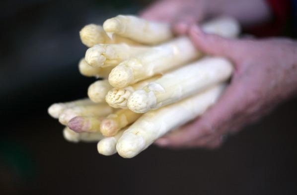 在德國,一年中只有三個月能吃到新鮮蘆筍。(Johannes Simon/Getty Images)