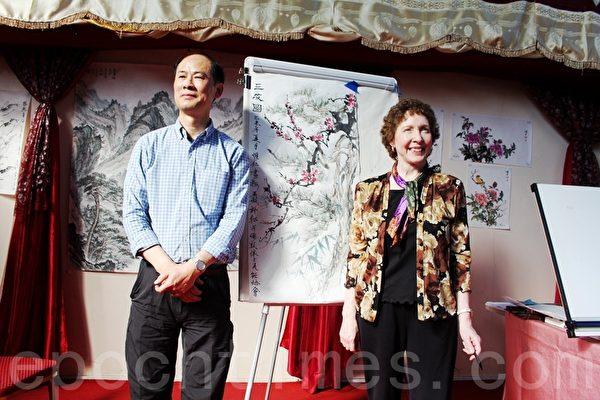 东西方中国水墨画家  相聚伦敦