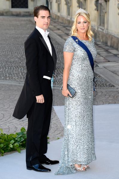 希臘和丹麥王子菲力普斯和姐姐塞奧佐拉公主。(Pascal Le Segretain/Getty Images)