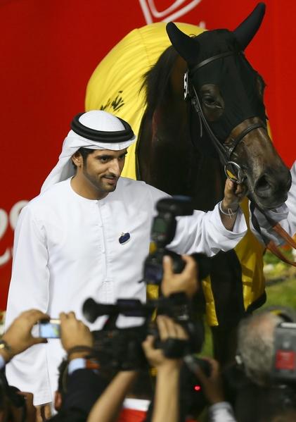 迪拜王儲謝赫‧哈姆丹(read MARWAN NAAMANI/AFP/Getty Images)