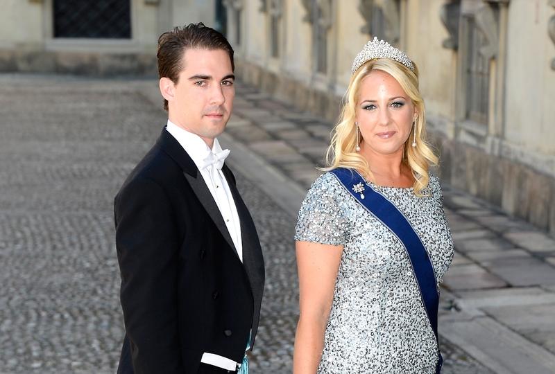 希腊和丹麦王子菲力普斯和姐姐塞奥佐拉公主都是单身。(Pascal Le Segretain/Getty Images)