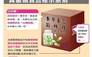 食藥署為加強管理真菌類(如靈芝、樟芝)食品,要求7月1日起如實標示。(衛生福利部食藥署提供)