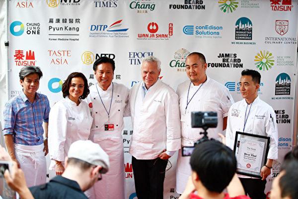 世界顶级名厨汇聚亚洲美食节。(戴兵/大纪元)