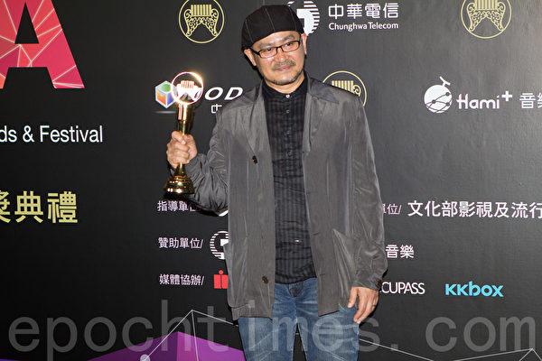 演奏類最佳專輯獎頒給演奏者:門田英司。(許基東/大紀元)