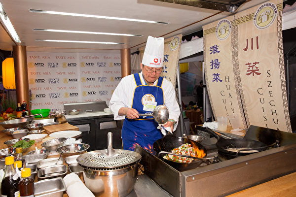 王道生做了三十多年淮揚菜,但自認只學到了淮揚菜的一部分。(戴兵/大紀元)