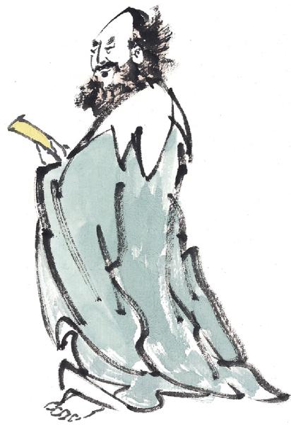 劉損料想虯髯老叟是身負奇技的俠士。(大紀元圖片庫)
