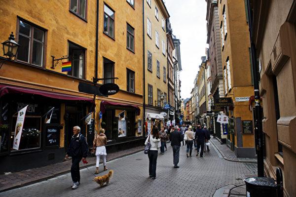 瑞典首都斯德哥爾摩既典雅又繁華,有「北方威尼斯」之稱。(AFP PHOTO / JONATHAN NACKSTRAND)