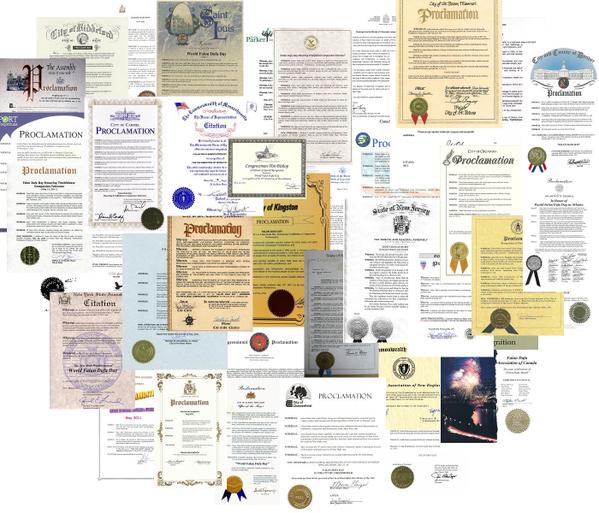 世界各國給法輪功創始人李洪志大師的各類褒獎。2007年「在世天才百強榜」 排名中,法輪功創始人李洪志大師名列第12位,是當今全球影響力最大的華人。2009年李洪志大師榮獲「精神領袖獎」,並四次被提名諾貝爾和平獎。(明慧網)