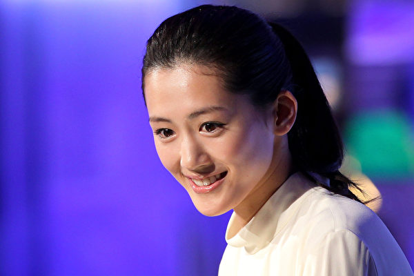 绫濑遥此次票选获得第八名。(Kiyoshi Ota/Getty Images)
