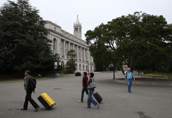 加州大学柏克莱分校(University of California, Berkeley)。(Justin Sullivan/Getty Images)