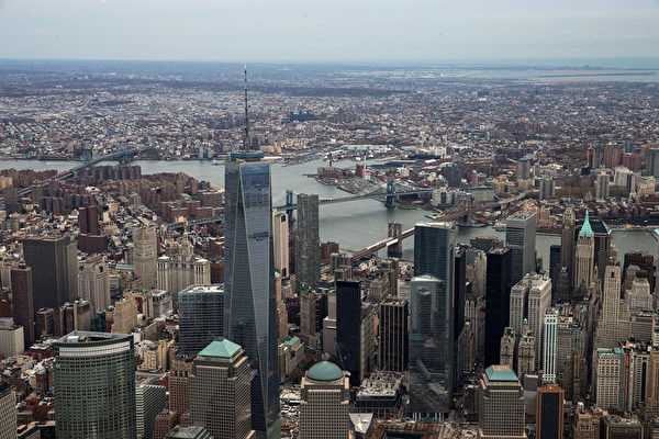 紐約是世界金融中心,也是中國遊客最喜歡去的城市。(Andrew Burton/Getty Images)