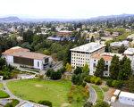 此次加大系统招生,遵守了加大校长纳波利塔诺(Janet Napolitano)的承诺,不再增加伯克利分校和洛杉矶分校的外州学生和国际生招生人数。图为加州大学伯克利分校。(fotolia)