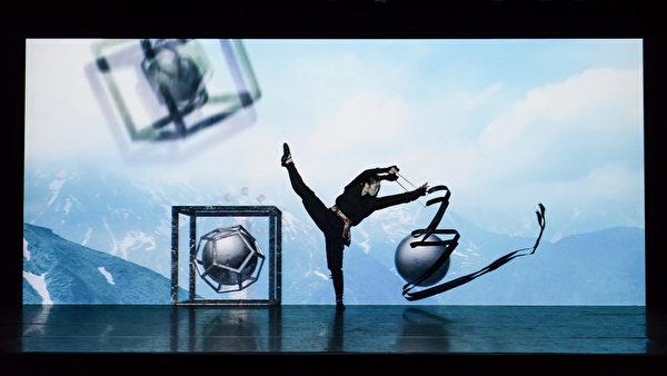 日本光影舞团enra以舞蹈融合多媒体元素。(宽宏艺术提供)