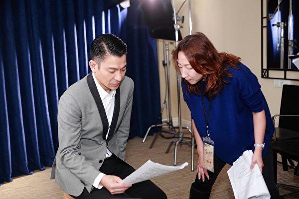 刘德华拍摄前与导演陈玉珊反复沟通内容。(华联国际提供)
