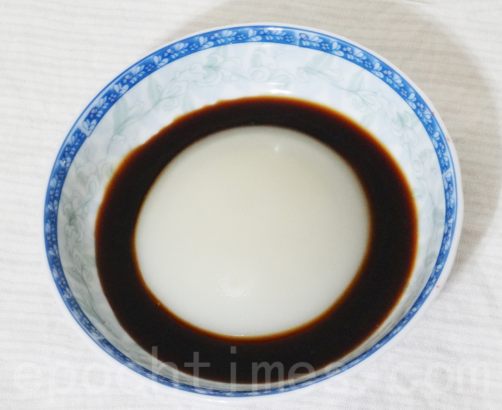 香甜柔嫩的葡萄井凉糕是四川省宜宾市长宁县双河镇的降暑小吃。(彩霞/大纪元)