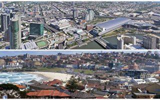 對2017年州府城市的房地產市場的預測,依舊是錯綜複雜的。不足為奇的是,悉尼與墨爾本可能繼續引領著全澳的市場。(悉尼大紀元資料室)