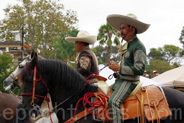 墨西哥骑手。(刘菲/大纪元)