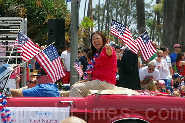 加州参议员阮珍纳(Janet Nguyen)。(刘菲/大纪元)